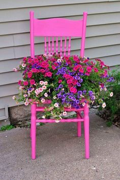 Sun May 09 Flower Chair